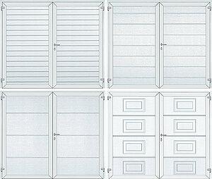 Novoferm steel barn garage door patterns