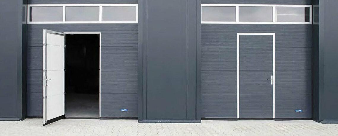 rapid roll doors for industrial spaces