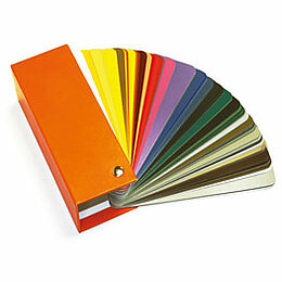a range of 10 popular RAL colours palette