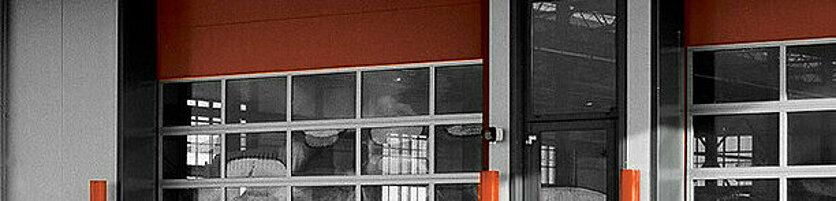 Industrial Garage Door Frame