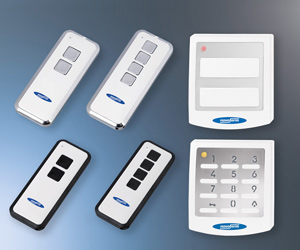 keypads and remote controls for garage doors